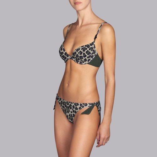 Andres Sarda Swimwear - NECKER - Gemoldeter Bikini-Top Front3
