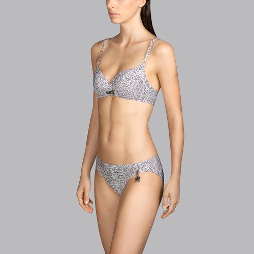 Andres Sarda Swimwear - PEACE - voorgevormde bikinitop front3