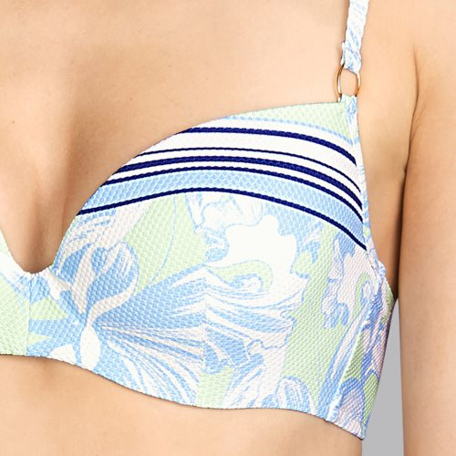 Andres Sarda Swimwear - POWER - preshaped bikini top Front5