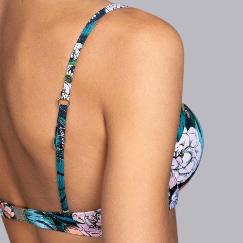 Andres Sarda Swimwear - SHELTER - Gemoldeter Bikini-Top Front5