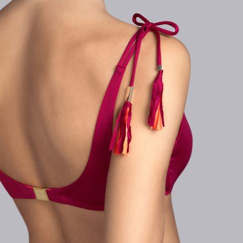 Andres Sarda Swimwear - WILSON - voorgevormde bikinitop Front5