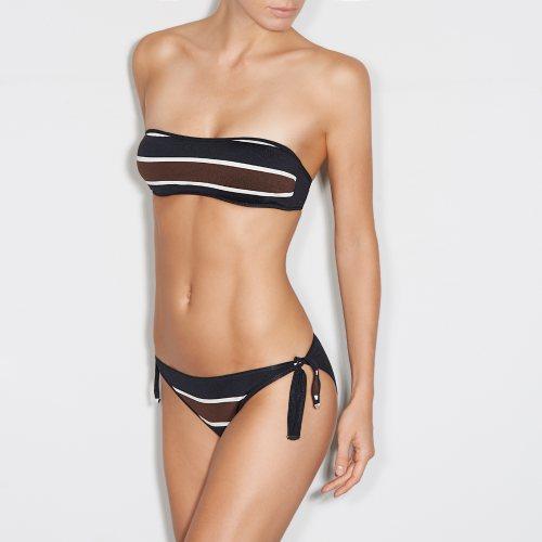 Andres Sarda Swimwear - AGATA - strapless bikini Front3
