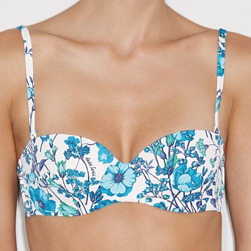 Andres Sarda Swimwear - ANTONELLA - strapless bikini Front