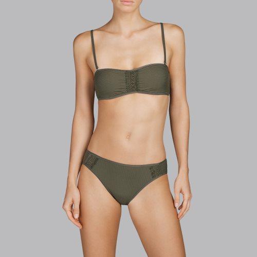 Andres Sarda Swimwear - ARACARI - strapless bikini Front2