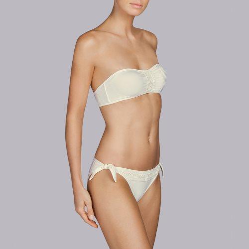Andres Sarda Swimwear - ARACARI - strapless bikini Front3