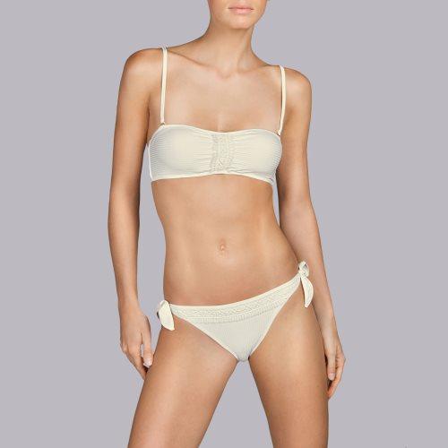 Andres Sarda Swimwear - ARACARI - strapless bikini Front4