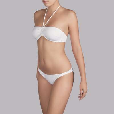 Andres Sarda Swimwear - CARINNE - strapless bikini Front3