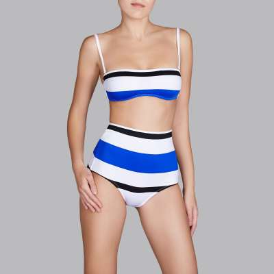 Andres Sarda Swimwear - strapless bikini Front2