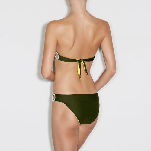Andres Sarda Swimwear - CLAUDIA - strapless bikini Front5