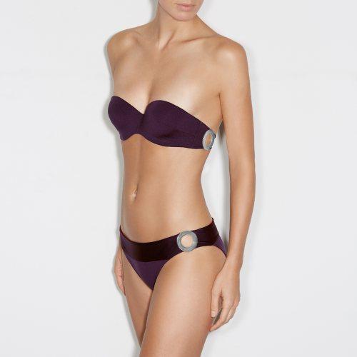 Andres Sarda Swimwear - CLAUDIA - strapless bikini Front3