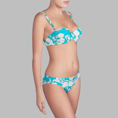 Andres Sarda Swimwear - strapless bikini Front3