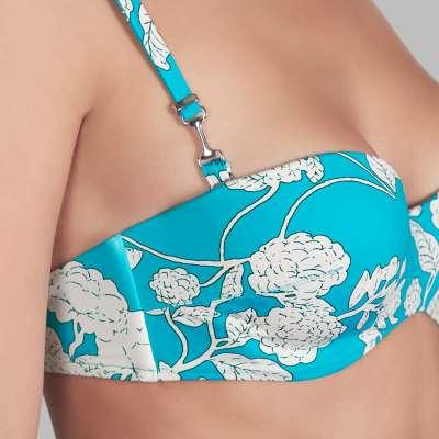 Andres Sarda Swimwear - strapless bikini Front5