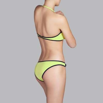 Andres Sarda Swimwear - strapless bikini Front4