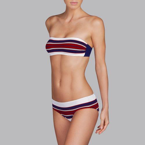 Andres Sarda Swimwear - PITTA - strapless bikini Front3