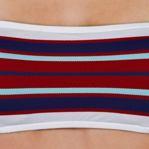 Andres Sarda Swimwear - PITTA - strapless bikini Front5