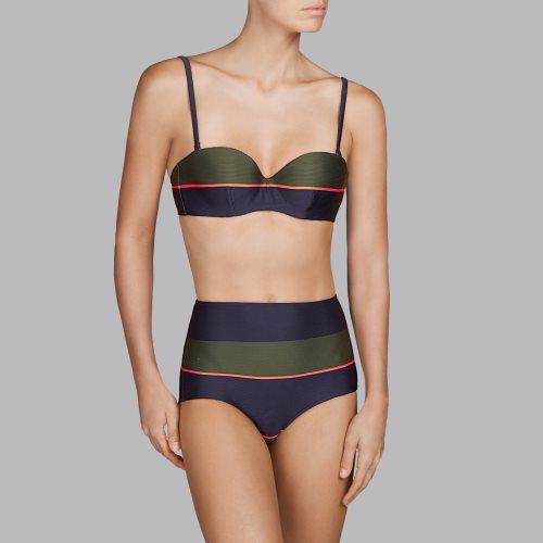 Andres Sarda Swimwear - QUETZAL - Bikini Trägerlos Front2