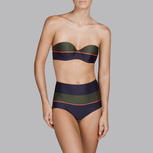 Andres Sarda Swimwear - QUETZAL - Bikini Trägerlos Front4