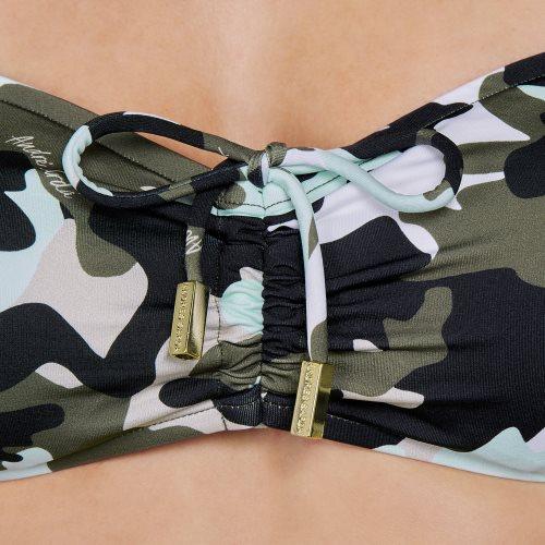 Andres Sarda Swimwear - ROLLER - strapless bikini Front5