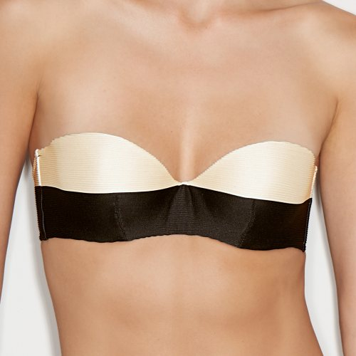 Andres Sarda Swimwear - SARA - strapless bikini Front