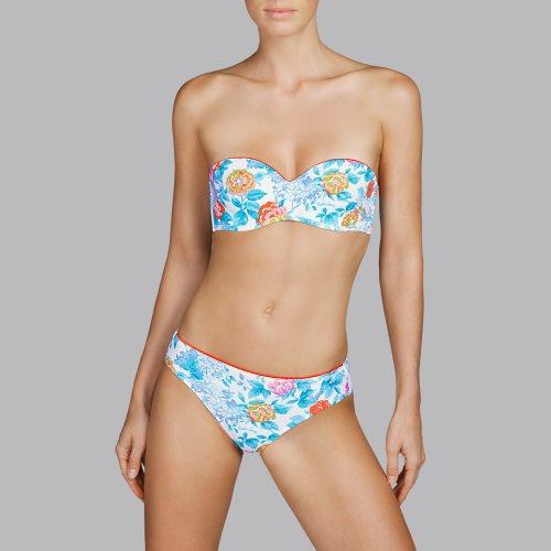 Andres Sarda Swimwear - TURACO - strapless bikini Front2