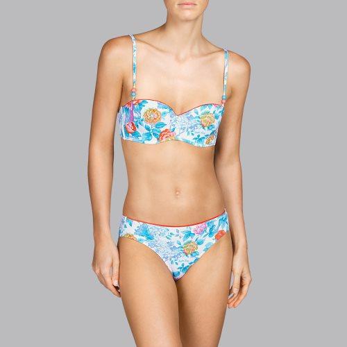 Andres Sarda Swimwear - TURACO - strapless bikini Front4