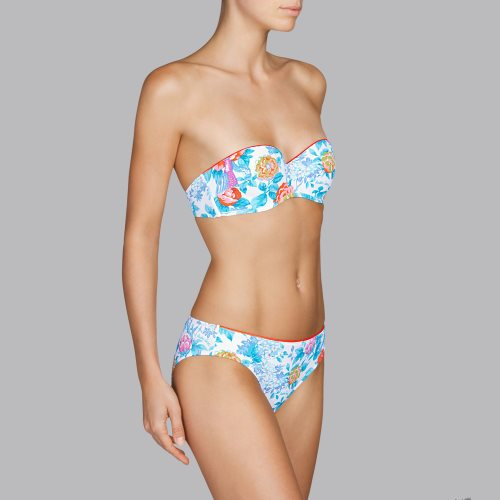 Andres Sarda Swimwear - TURACO - strapless bikini Front5