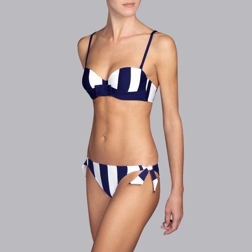 Andres Sarda Swimwear - AZURA - strapless bikini top Front3