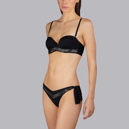 Andres Sarda Swimwear - MOON - strapless bikini top Front3