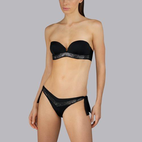 Andres Sarda Swimwear - MOON - strapless bikini top Front5