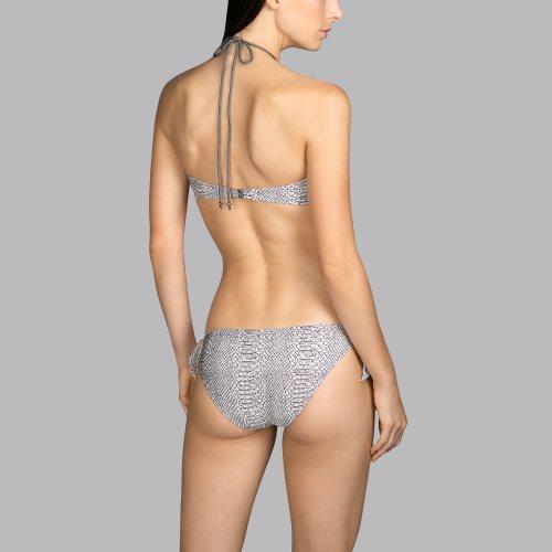 Andres Sarda Swimwear - PEACE - strapless bikinitop front4