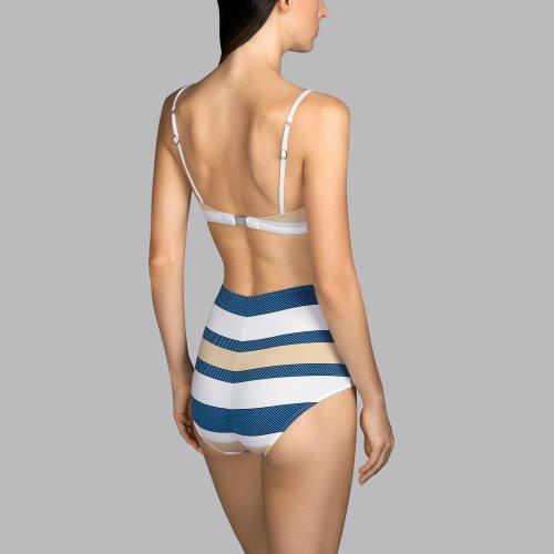Andres Sarda Swimwear - POP - strapless bikini top Front4