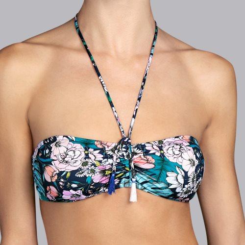 Andres Sarda Swimwear - SHELTER - strapless bikinitop