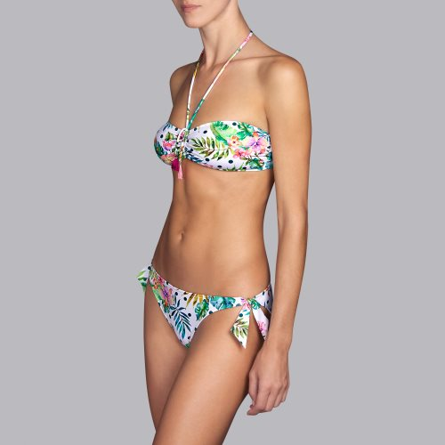 Andres Sarda Swimwear - SHELTER - strapless bikinitop front3