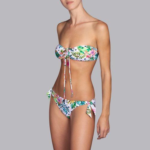Andres Sarda Swimwear - SHELTER - strapless bikinitop front4