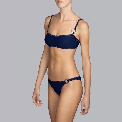 Andres Sarda Swimwear - TANE - bikini top sin tirantes Front3