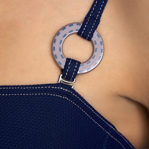 Andres Sarda Swimwear - TANE - bikini top sin tirantes Front5