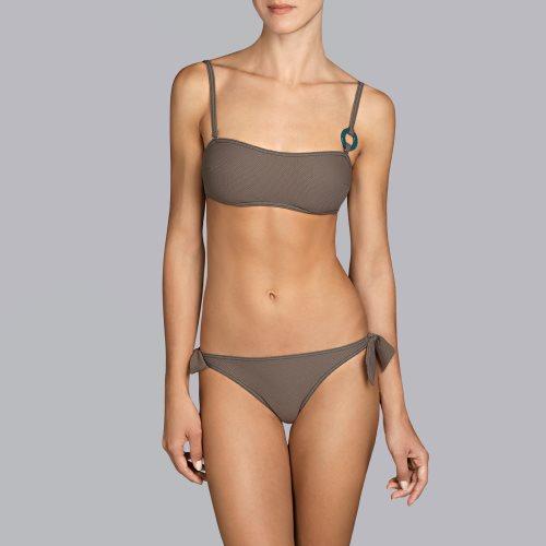Andres Sarda Swimwear - TANE - strapless bikinitop front2