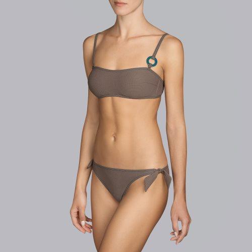 Andres Sarda Swimwear - TANE - strapless bikinitop front3