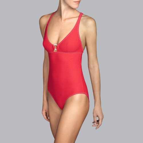 Andres Sarda Swimwear - TANE - Badeanzug figurformend Front2