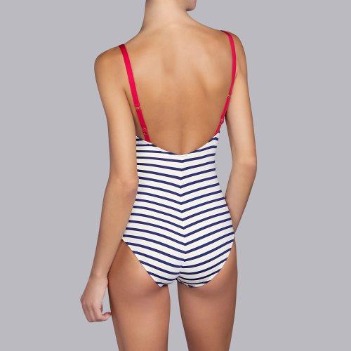 Andres Sarda Swimwear - WAKAYA - Badeanzug figurformend Front3