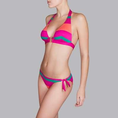 Andres Sarda Swimwear - triangle bikini Front3