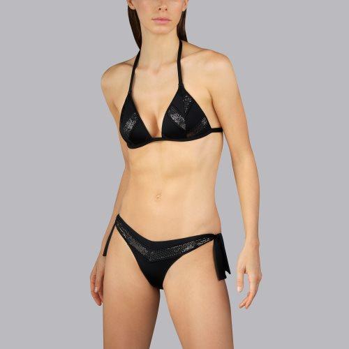 Andres Sarda Swimwear - MOON - triangel bikinitop front2