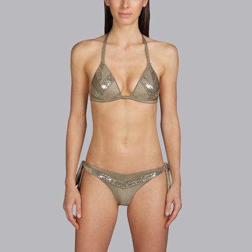 Andres Sarda Swimwear - MOON - triangle bikini top Front2