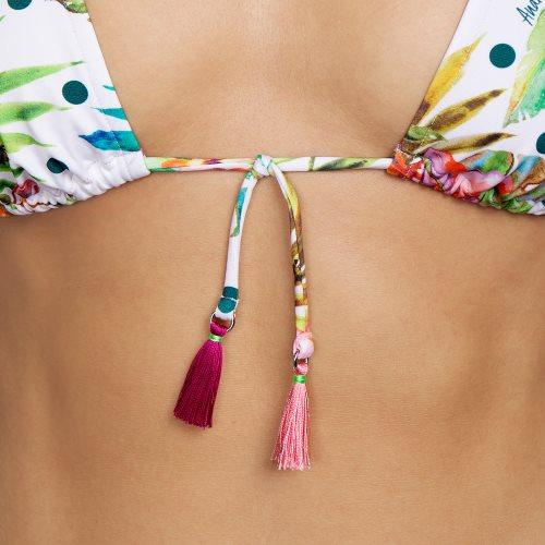 Andres Sarda Swimwear - SHELTER - triangel bikinitop front4