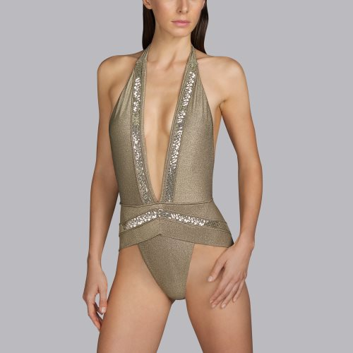 Andres Sarda Swimwear - MOON - trikini Front