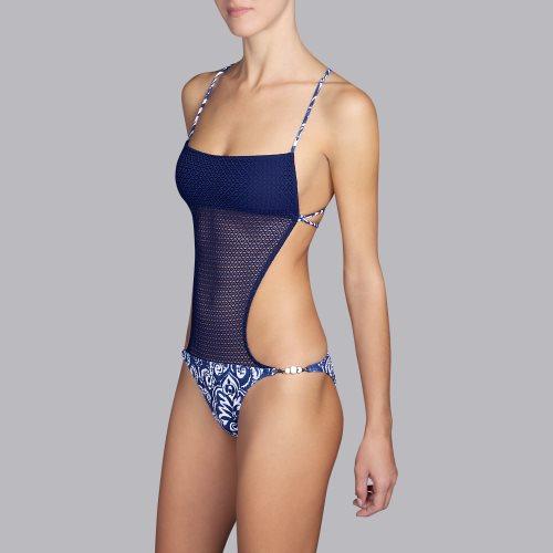 Andres Sarda Swimwear - NECKER - trikini Front2