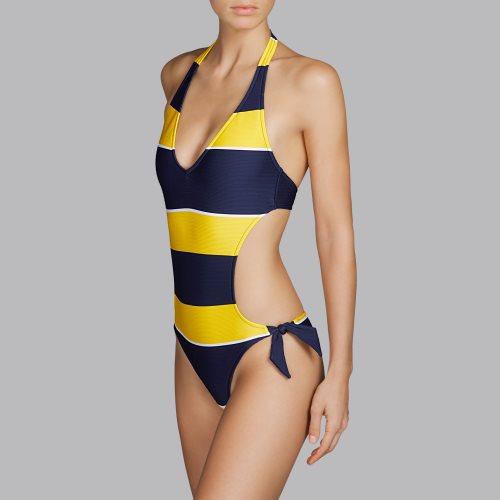 Andres Sarda Swimwear - QUETZAL - trikini Front2