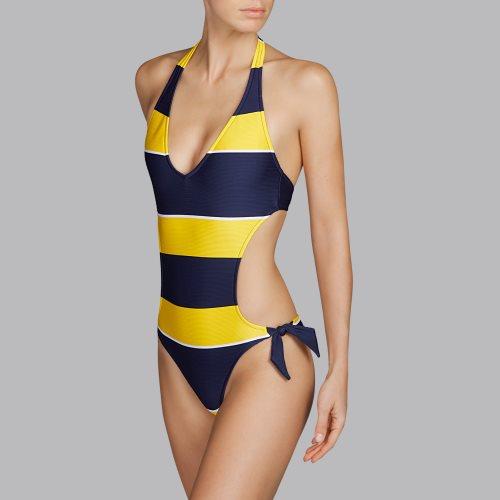 Andres Sarda Swimwear - QUETZAL - trikini Front3