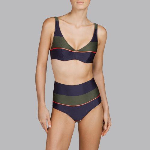 Andres Sarda Swimwear - QUETZAL - Bikini Vollschale mit Bügel Front2