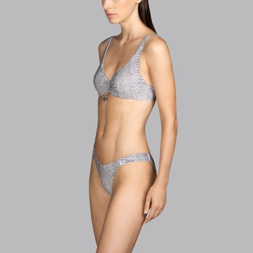 Andres Sarda Swimwear - PEACE - beugel bikinitop front3